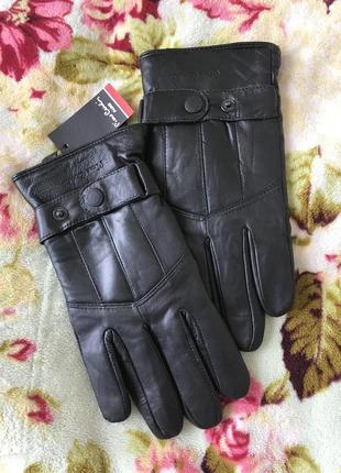 Перчатки  зима настоящая кожа pierre cardin