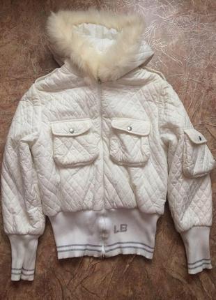 Куртка белая + комплект