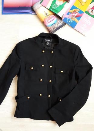 Короткое пальто h&m / пиджак с шерстью h&m /2я единица в подарок