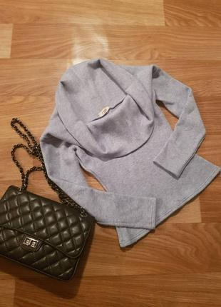 Кофта неимоверного качества: шерсть и кашемир свитер