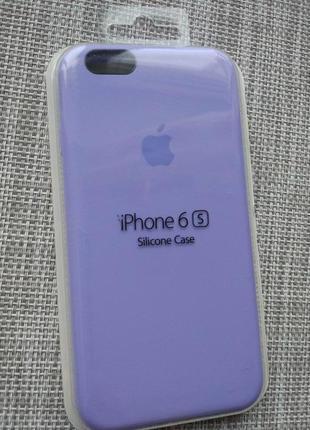 Чехол silicon case на iphone 6/ 6s lilac сиреневый