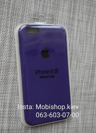 Чехол silicon case на iphone 6/ 6s ultra violet фиолетовый