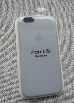 Чехол silicon case на iphone 6/ 6s lilac cream