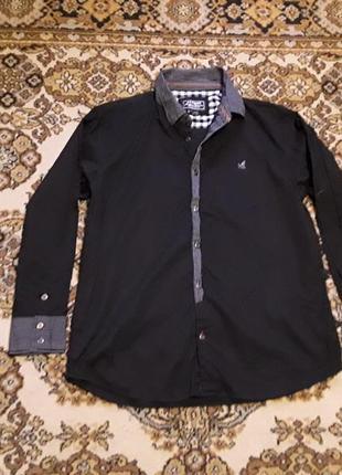 Брендова фірмова англійська рубашка сорочка kangol, оригінал, розмір xxl.