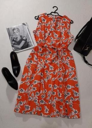 Красивое льняное платье размер xxl