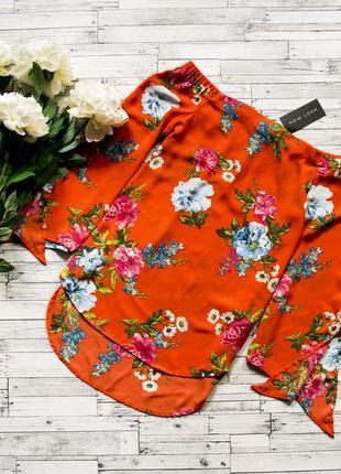 Яркая блуза new look