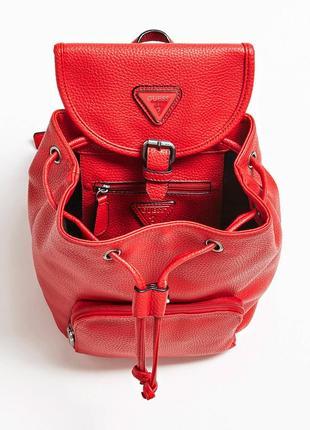 Красный рюкзак guess! новый, оригинал!4