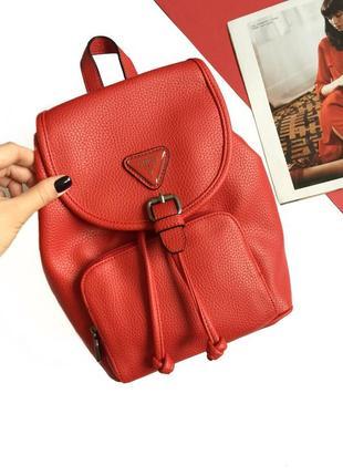 Красный рюкзак guess! новый, оригинал!2