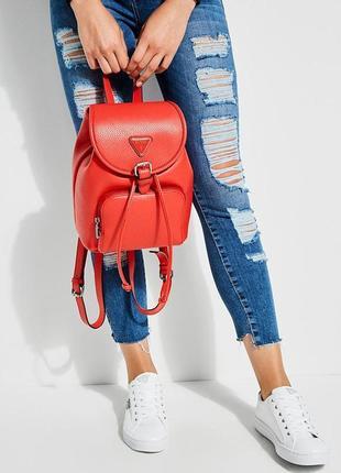Красный рюкзак guess! новый, оригинал!