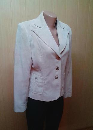 Жакет,пиджак,кардиган,микровельвет,бренд-оригинал.46р.2 фото