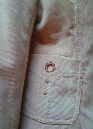 Жакет,пиджак,кардиган,микровельвет,бренд-оригинал.46р.3 фото