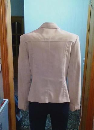 Жакет,пиджак,кардиган,микровельвет,бренд-оригинал.46р.4 фото