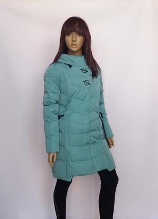 Зимняя куртка, пуховик caroles 17520 ментол