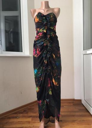 Красивое миди платье