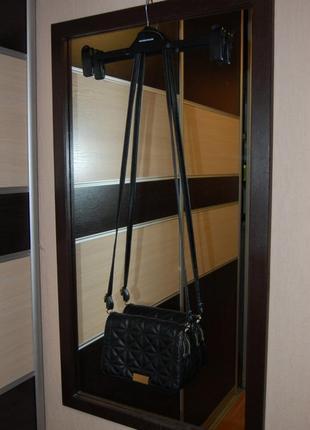Стеганная сумка на длинной  ручке4 фото