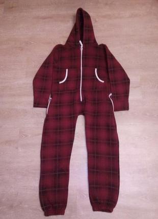 Кигуруми, начес, теплая пижама, urban kids, 11-12 лет