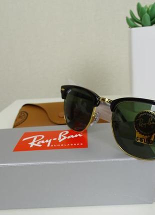 Солнцезащитные очки оригинал rayban ray ban ray-ban clubmaster rb3016 w0365