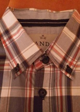 Новая рубашка с длинным рукавом c&a