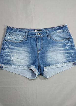 Брендовые короткие джинсовые женские шорты no name