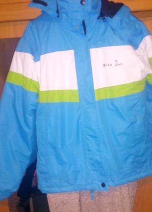 Куртка лыжная унисекс на рост 164