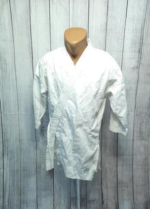 Кимоно куртка легкая domyos, 160 см, мин сл носки, хор сост!