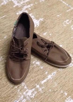 Туфли мокасины sanuk, новые!