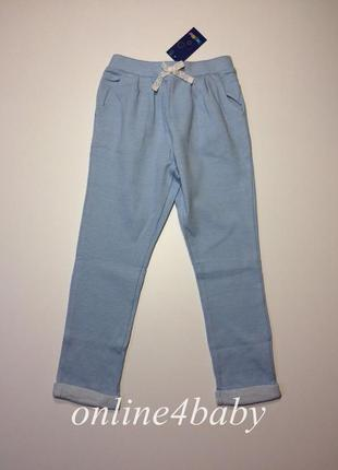 Детские спортивные штаны lupilu на девочку 4-6 лет, рост 110/116 см