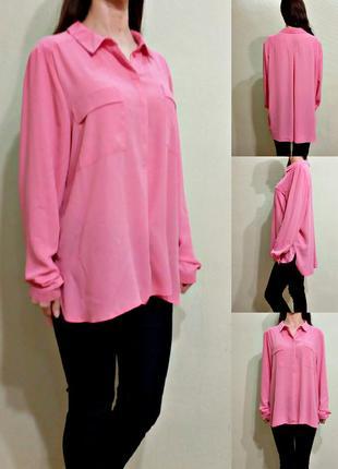 Легкая розовая блуза