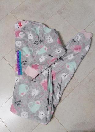 Кигуруми,пижамка флисовая,тепленькая,маршмелоу от primark большой размер