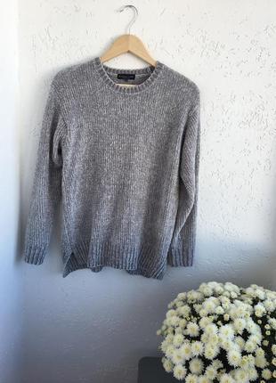 Плюшевый свитер оверсайз от f&f