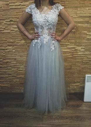Очень крутое вечернее, выпускное платье