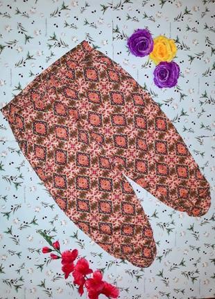 Акция 1+1=3 стильные вискозные штаны брюки на резинке tu, размер 52 - 54