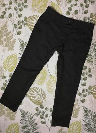 Брендовые новые летние натуральные брюки marks & spencer