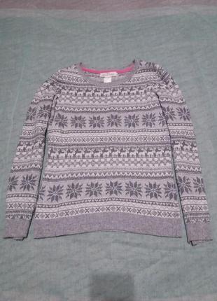 Теплый свитер 158-164р