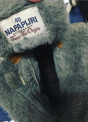 Зимние кроссовки napapijri оригинал5 фото
