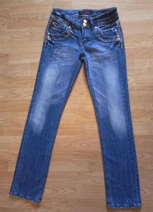 Эффектные женские джинсы miss miss, р. xs