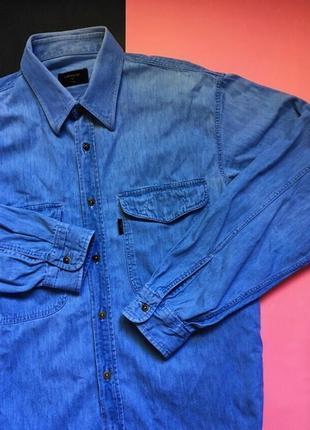 Мужская джинсовая рубашка valentino