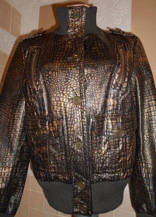 Куртка натуральная кожа-италия