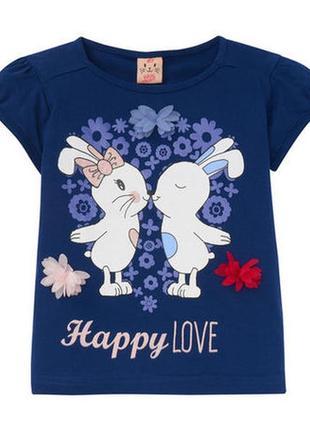 Красивая футболка kiki&koko р.122
