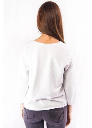 Свитшот женский свободный mango белый (s)3 фото