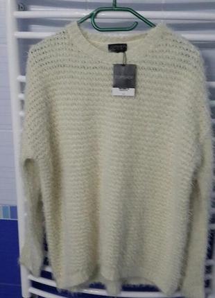 Мягенький свитер-травка оверсайз topshop