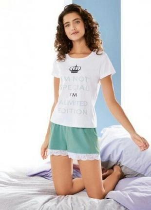 Красивые пижамные шорты esmara. м