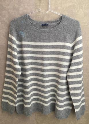 Кашемировый свитер джемпер бренда darling. размер м-l. 100% кашемир