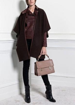 Шерстяное пальто / пончо uterque,p.m-l