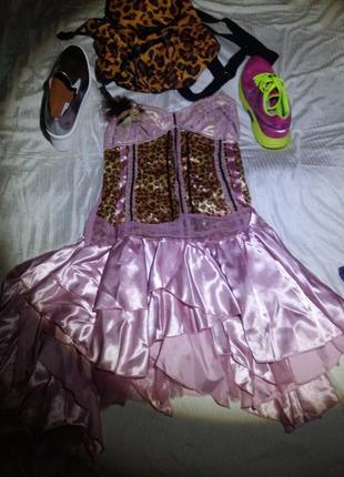 Супер платье на бретелях атлас гипюр лондон