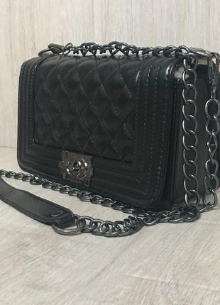 Сумка клатч сумочка трендовая с длинной и короткой ручкой4 фото