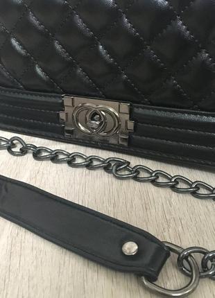 Сумка клатч сумочка трендовая с длинной и короткой ручкой5 фото