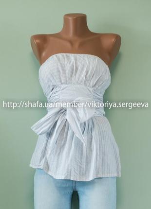 Большой выбор блуз - воздушная красивая блуза с шикарным поясом