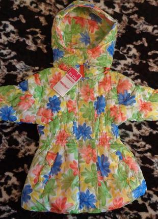 Курточки для девочек  на 3-5 года