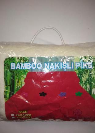 Плед 2х2.10 бамбук3